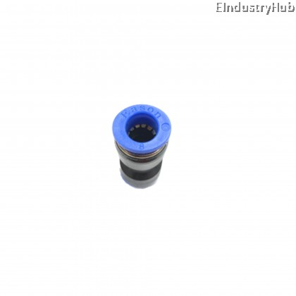 PU08 8mm Straight Union Pneumatic Air Push In Quick Fitting (10pcs)