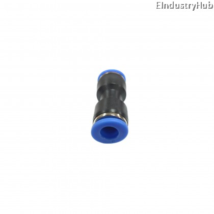 PU06 6mm Straight Union Pneumatic Air Push In Quick Fitting (10pcs)
